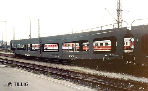 Tillig 15050 - Double-Deck Car Carrier DDm
