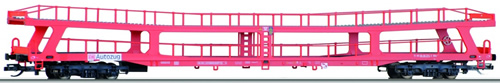 Tillig 15051 - Double Deck Auto Transport Wagon DDm 915 of the DB AG