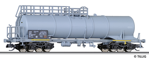 Tillig 15431 - 4-axle Tank Car Zacs of the DR