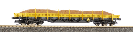 Tillig 15575 - Low Side Wagon w/Load