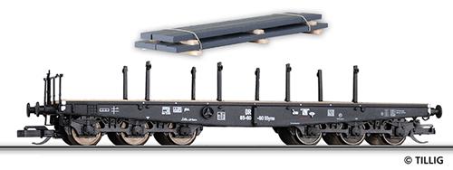 Tillig 15616 - 6-axle Flat Car w. Steel Slabs