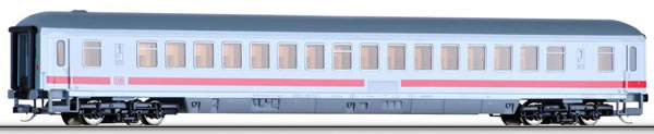 Tillig 16101 - German Express Train Coach Apmz 121 of the DB with ICE painting