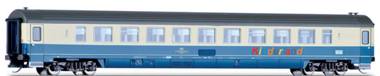 Tillig 16508 - German Express Train Coach Bpmz Kirkland of the DB