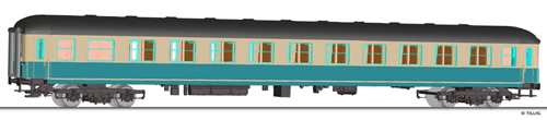 Tillig 16580 - 2nd Class Couchette Coach Bcm 243 of the DB