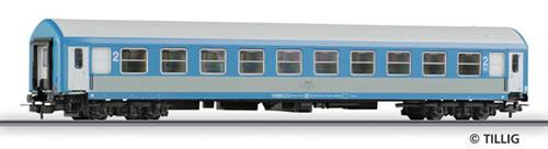 Tillig 16641 - 2nd Class Passenger Coach