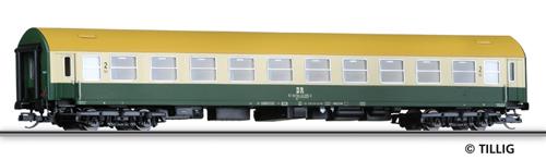 Tillig 16650 - 2nd Class Couchette Coach, type Y/B 70