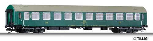 Tillig 16651 - 2nd Class Couchette Coach, Type Y