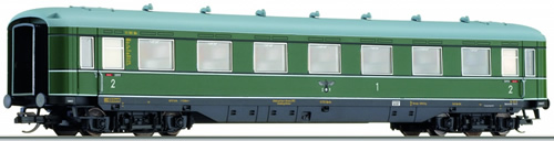 Tillig 16923 - 1st/2nd Class Passenger Coach of the DRG