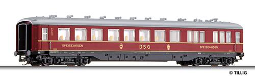 Tillig 16975 - Dining Car of the DB