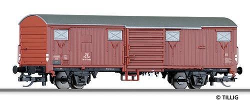 Tillig 17155 - 2-axle Box Car Glmms of the DB