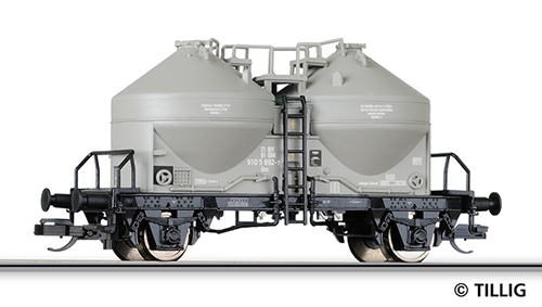 Tillig 17733 - 2-axle Silo Car Ucs of the OBB