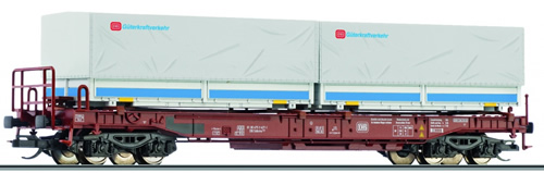 Tillig 18151 - Pocket Wagon of the DB with load