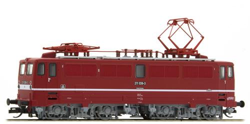 Tillig 500228 - German Electric Locomotive Class 211 of the DR