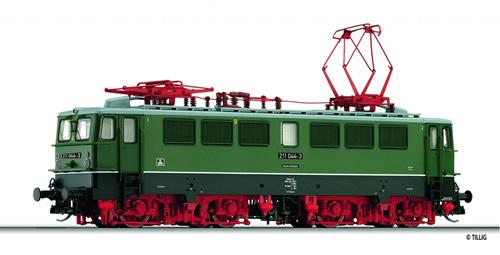 Tillig 501067 - German Electric Locomotive Class 211 of the DR