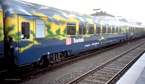 Tillig 501130 - 2nd class passenger coach set