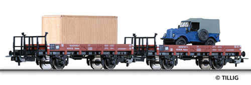 Tillig 70002 - Freight car set