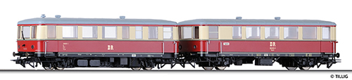 Tillig 70004 - Railbus Class 183 w. Trailer
