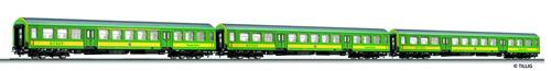 Tillig 70019 - Passenger Coach Set of the GYSEV