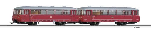 Tillig 73140 - Railbus class VT 2.09 with trailer car VB 2.07