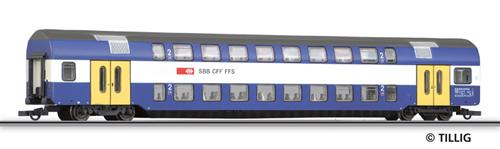 Tillig 73804 - 2nd class double-deck coach