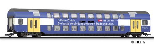 Tillig 73805 - 2nd class double-deck coach