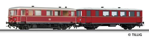 Tillig 74192 - Railbus class VT 70.9 with trailer car VB 140
