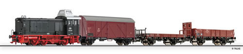 Tillig 74196 - H0-Elite beginner set - freight train with track oval and siding