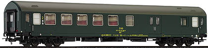 Tillig 74350 - 2nd class coach w/baggage compartment