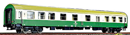 Tillig 74420 - 2nd class coach w/baggage compartment