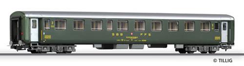 Tillig 74769 - 2nd class couchette coach