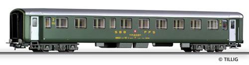 Tillig 74770 - 2nd class passenger coach