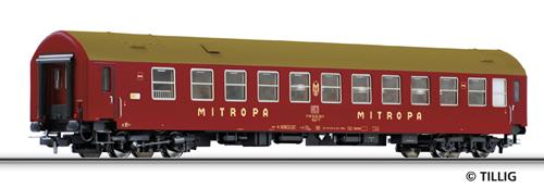 "Tillig 74800 - Sleeping coach ""Mitropa"" WLAB 178.1, type Y"