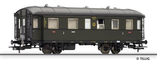 Tillig 74801 - 2nd/3rd class passenger coach