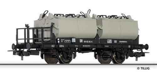 Tillig 76046 - Lime transport car