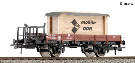 Tillig 76498 - Low side board waggon DR