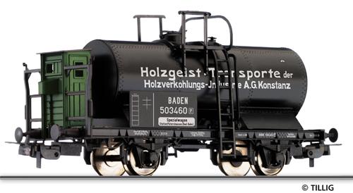 """Tillig 76554 - Tank car Holzverkohlungs-Industrie Konstanz"""""""