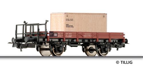 Tillig 76556 - Low side car X Erfurt