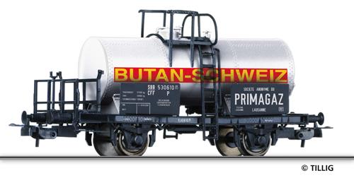 """Tillig 76560 - Tank car PRIMAGAZ"""""""