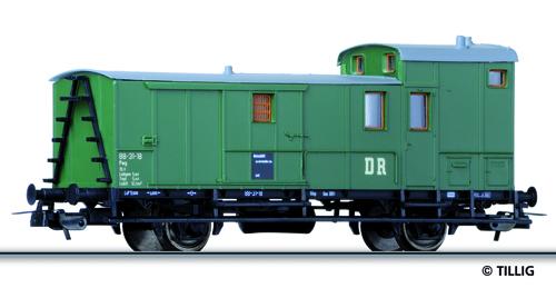 Tillig 76576 - Baggage car (ex Pw Sachs 07)
