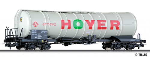 Tillig 76583 - 4-axle Tank Car HOYER