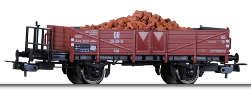 Tillig 76593 - 2-axle Gondola w. Brick load