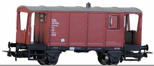 Tillig 76607 - German Baggage Car Pwg09 of the DB