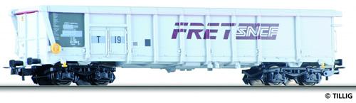 Tillig 76616 - Sliding Roof Car Tamns T19 FRET of the SNCF