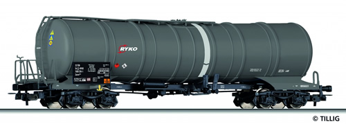 Tillig 76620 - Tank Car Zacns RYKO of the CZ-RYKO