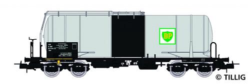 Tillig 76634 - Tank Car Uahs SIMOTRA/BP of the SNCF