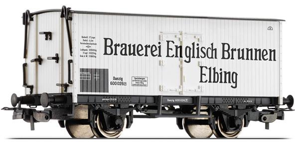 Tillig 76656 - Refrigerator Car Brauerei Englisch Brunnen Elbing