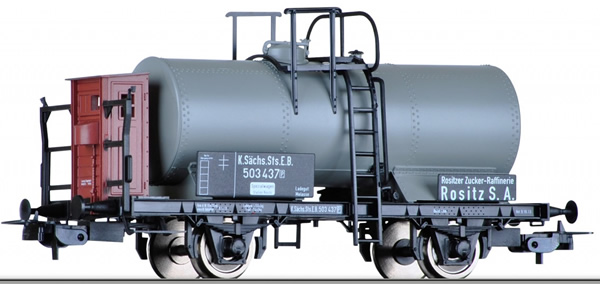 Tillig 76679 - German Tank Car of the K.Sachs.Sts.E.B.