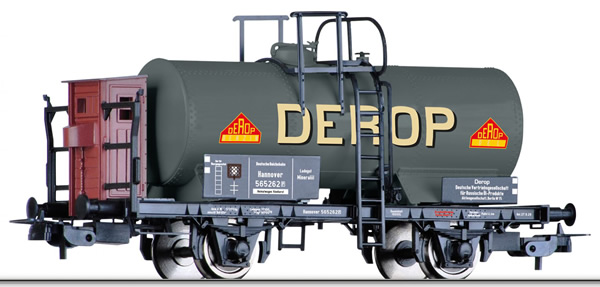 Tillig 76736 - Tank car DEROP German distribution company for Russian oil products Berlin