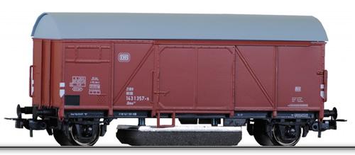 Tillig 76871 - Box Car w. Track Cleaner DB