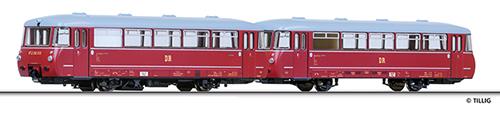 Tillig 79004 - Railbus VT 2.09 w. Trailer VB 2.07 DR